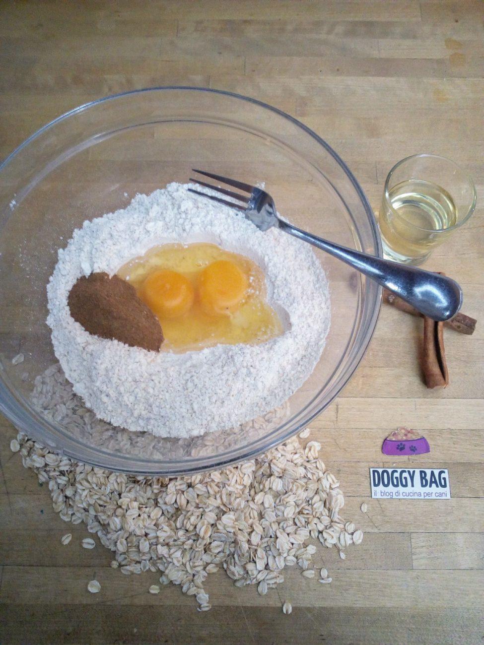 Snack per cani cannella carote mela doggy bag il blog di cucina per cani - Cucina casalinga per cani dosi ...