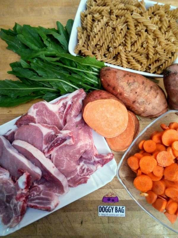 Pasto per cani monoproteico ed energetico ricette per cani - Cucina casalinga per cani dosi ...